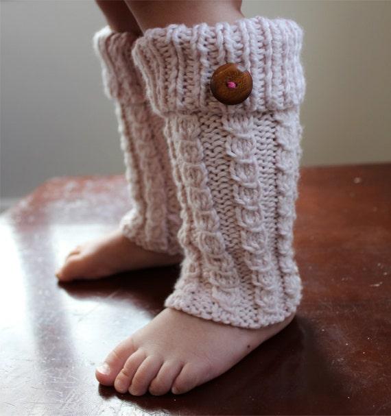 KNITTING PATTERN Toddler Leg Warmers PDF
