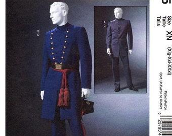 Sz Xlg/Xxl/XXl - McCall's Costume Pattern M4745 - Men's Historical Civil War Uniform Costumes