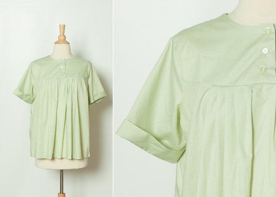 Vintage 1960s Maternity Blouse