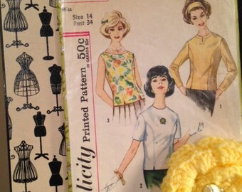 Vintage Sewing PATTERN Collage
