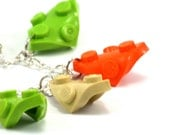Charms chain bracelet DUBLIN made with LEGO bricks