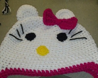 kitty kat hat your choice of color