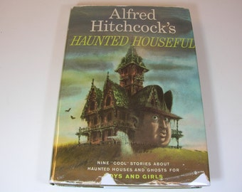 Vintage Alfred Hitchocks Haunted Houseful Book 1961