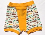 Cars and Buses Boxer Briefs size 3 4 or 5 6