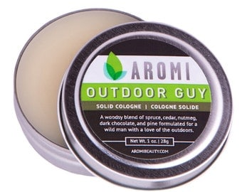 Outdoor Guy Solid Cologne.  Man Cologne.  Men's Fragrance.  Man's Gift.