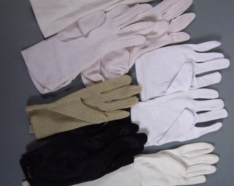 Misc vintage single gloves-(231g)