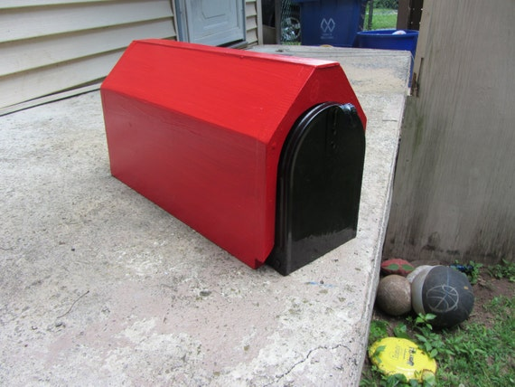 Handmade Custom Designed Dog House Mailbox By Tomscraftcastle