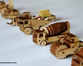 Construction Vehicle Kits - All 7 Designs