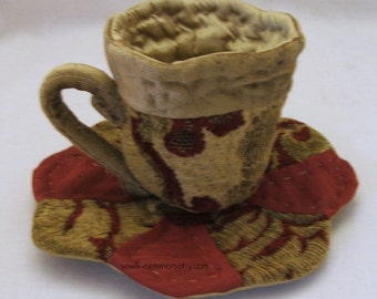 Quilted Tea cup