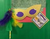 CUSTOM Mardi Gras Themed Invitations