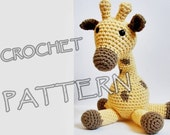 Amigurumi giraffe crochet pattern in US English