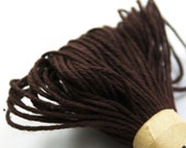 Colored String - 20 Yards of SOLID colored DARK BROWN - for crafting, gift wrapping, packaging