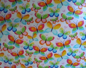 Hearts A Flutter Fabric by Michael Miller -1 yard
