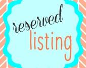 Reserved Listing for Deena Fyfe