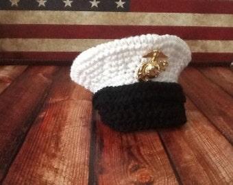 Officer Hat Crochet PATTERN