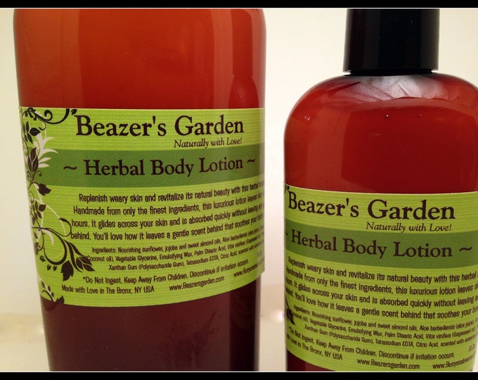 Natural Body Lotion - Scented Lotion - Body Moisturizer - Bath & Body - Natural Skincare - Body Lotion - Skincare for Women - For Men