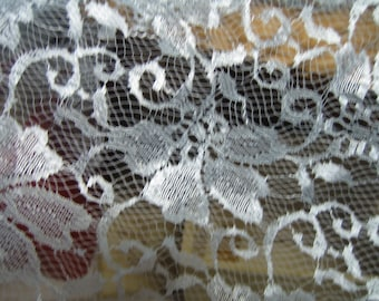 "Lace fabric, Lace yardage,Lace,Lace Material, 1.5yrds L x 66"" w, Lace curtain, Lace panel, lacey"