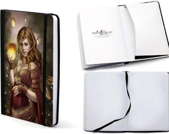 Notebook Journal Floating Light Fairy by Selina Fenech