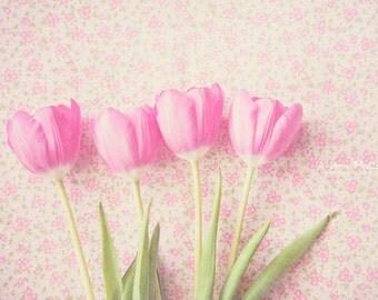 Pink Tulips ~ 8x10 print