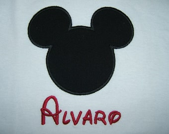 Personalized Mickey Mouse Shirt