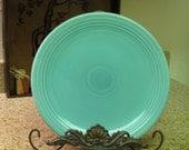 "Vintage 12 "" Fiesta Platter in Turquoise circa 1940"