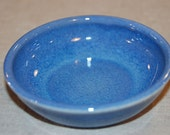 Cat Food Bowl in Cobalt - Matches fountains done in Lavender Blue