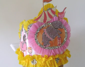 CIRCUS Birthday Party hat