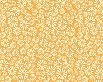 Organic Cotton Fabric - Birch Marine Too Urchin Forest Sunset
