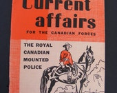"""1953 Royal Canadian Mounted Police """"Current Affairs"""""""