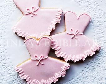 Pretty Pink Tutu Cookie (1 dozen)