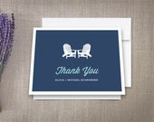 Thank You Cards, Adirondack Beach Chairs