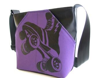 FTR Scoop Pocket Power Skate Shoulder Bag - (Color of your choice & Black Vinyl)