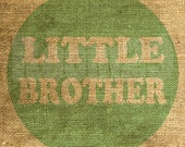 Instant Download - Little Brother in Mint - Download and Print - Image Transfer - Digital Sheet by Room29 Sheet no. 566Mint