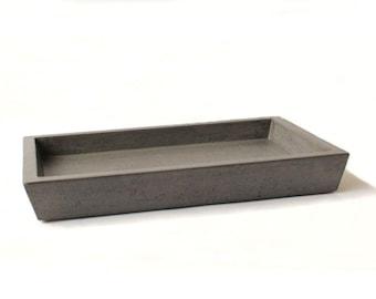 Concrete Valet Tray