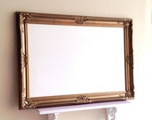 Antique Gold DRY ERASE BOARD Whiteboard Magnetic Office Organizer Bulletin Board Baroque Framed Kitchen Organizer Wedding - ReADY to SHiP