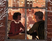 dinner date print