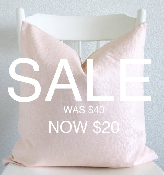 Pillow sale 20x20 glam animal pattern light pink throw pillow cover