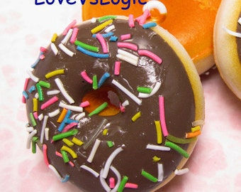 1 XHuge Chunky Donut Soft Plastic Pendant.15