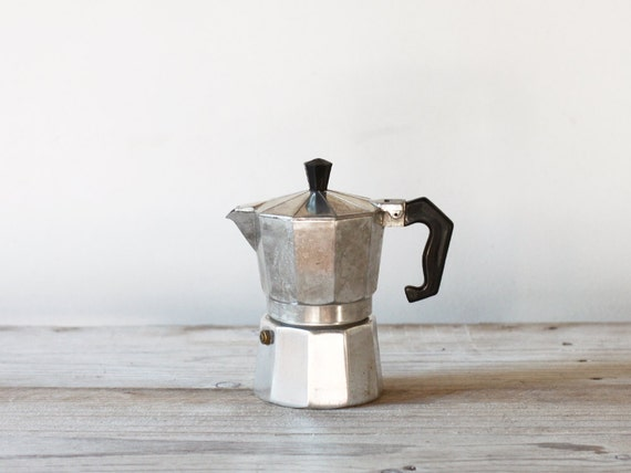Italian Coffee Maker Small : Italian Espresso maker Stove top coffee maker Small by FrenchFind