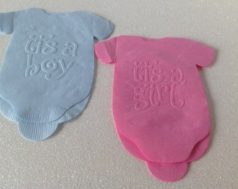 baby shower napkins set of 20 embossed napkins