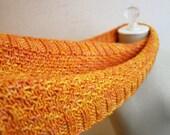 Cowl Pattern / Knitting Pattern / Infinity Scarf Long Cowl / Celle / PDF Digital Download