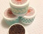 All Natural Moisturizing Coffee Sugar Lip Scrub Pots