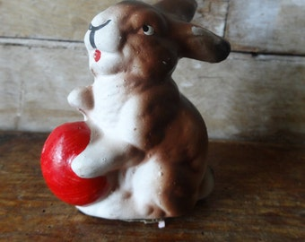Vintage West German Bunny or Rabbit 1940s or 50s Ino Schaller