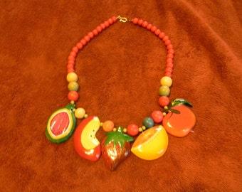 Fruit Necklace Vintage Sale
