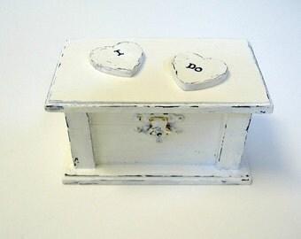 Ring Bearer Pillow - Engagement Ring Box - Bride's Gift - Wedding Accessories - Ring Bearer