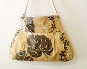 SALE-Women Messenger Bag Cross Body Purse wtih  Zipper closur- colored cup- Ready to ship