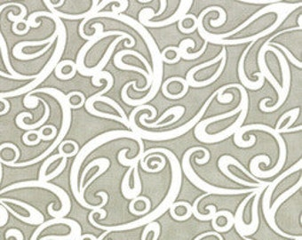 SALE : Ruby Sublime gray Bonnie & Camille moda fabric FQ or more