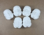 6 Stormtrooper Bath Bombs/Bath Fizzies - Star Wars, scifi, science fiction, classic, bad guys, villain, trooper, party favor, geek