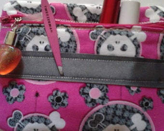 Skulls and Bones Cosmetic Bag