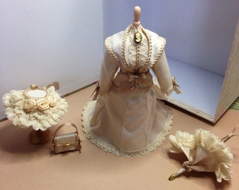 Beautiful miniature wedding suit